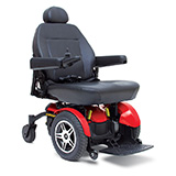 select elite 14 Pride Jazzy Electric Wheelchair Powerchair Oakland CA Jose San Francisco stairway chair staircase  . Motorized Battery Powered Senior Elderly Mobility