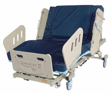burkebariatric triflex II  bariatric bed Oakland CA Jose San Francisco stairway chair staircase   heavy duty large extra wide electric power adjustable medical mattress 3-motor high low fully electric reverse trendellenburg